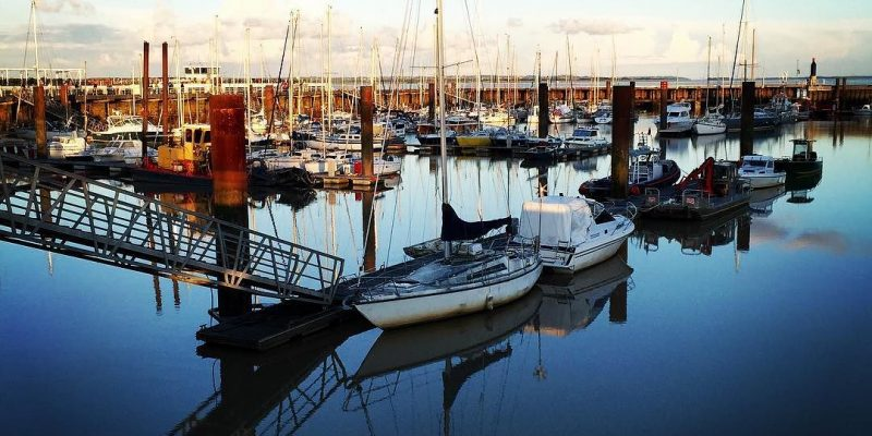 Marina and Docks in Paulliac, Fracne