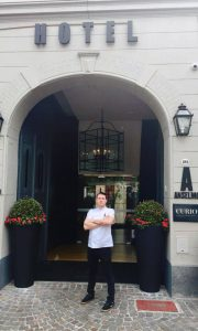 Chef Dave Soady outside the Anselmo Buenos Aires