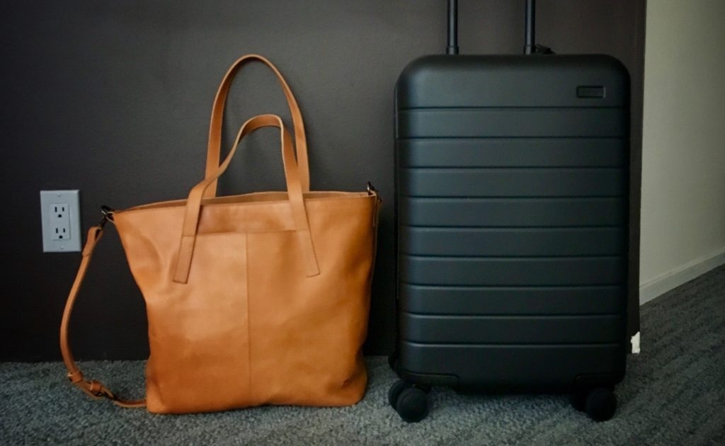 Away Carry-On + Alem Utility Bag by Fashionable