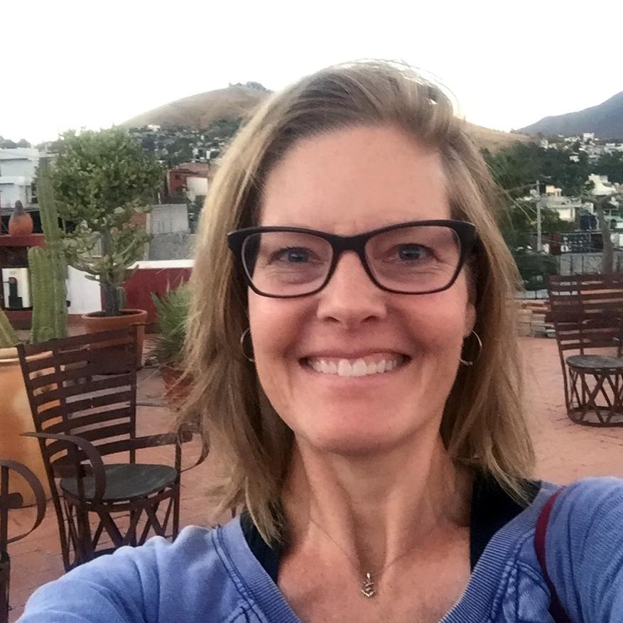 Katharine Harvey in Mexico