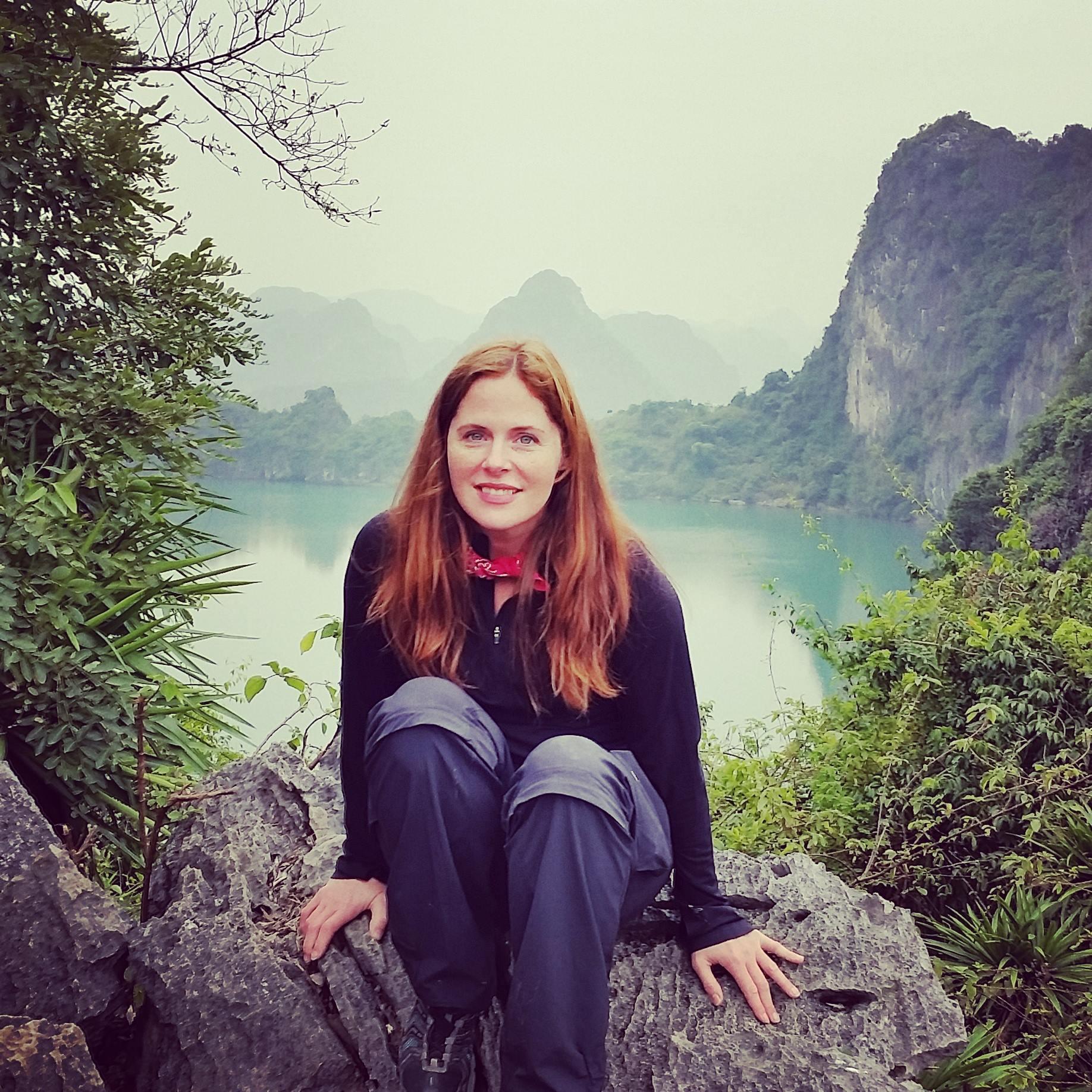 Kristen Winn in Sa Pa, Vietnam