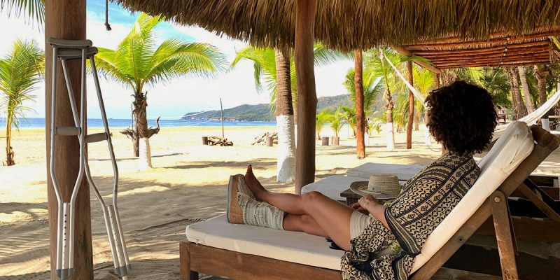 Jet Set Lisette in Zihuatanejo, Mexico