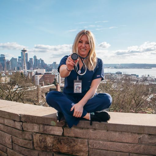 Kylee Nelson, Travel Nurse